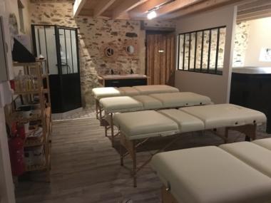Image de la salle de massage - Mélodie des Sens